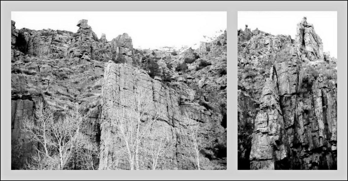 Poudre Canyon Walls