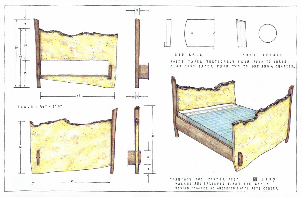 Two Poster Bed