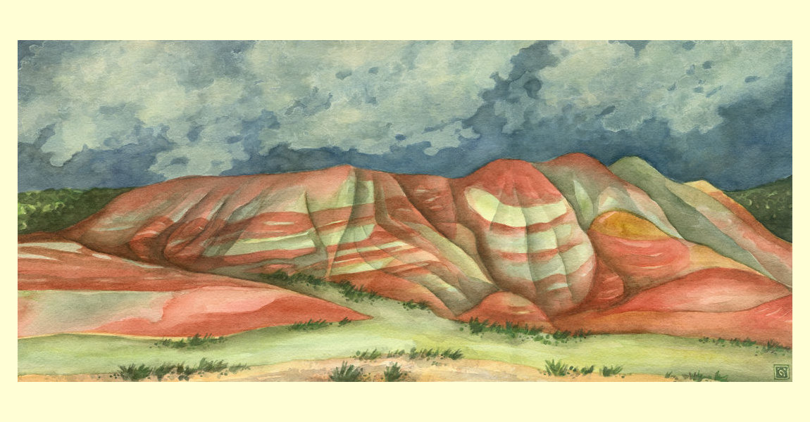 Fossil Beds ~ Painted Hills
