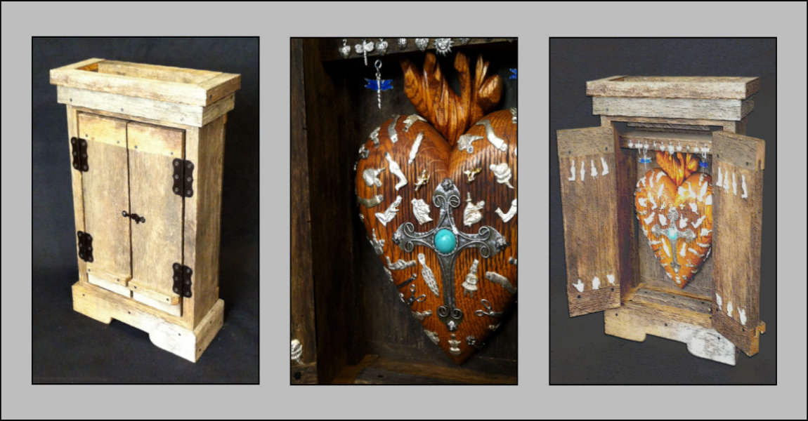 Sacred Heart Cabinet